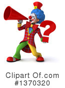 Colorful Clown Clipart #1370320 by Julos
