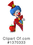 Colorful Clown Clipart #1370333 by Julos