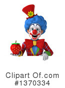 Colorful Clown Clipart #1370334 by Julos