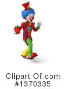 Colorful Clown Clipart #1370335 by Julos