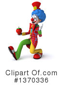 Colorful Clown Clipart #1370336 by Julos