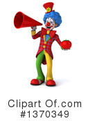 Colorful Clown Clipart #1370349 by Julos