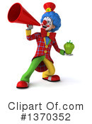 Colorful Clown Clipart #1370352 by Julos