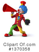 Colorful Clown Clipart #1370358 by Julos
