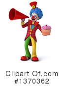 Colorful Clown Clipart #1370362 by Julos
