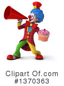 Colorful Clown Clipart #1370363 by Julos