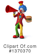 Colorful Clown Clipart #1370370 by Julos