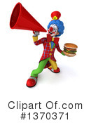 Colorful Clown Clipart #1370371 by Julos