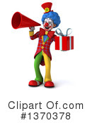 Colorful Clown Clipart #1370378 by Julos