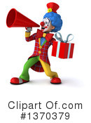 Colorful Clown Clipart #1370379 by Julos