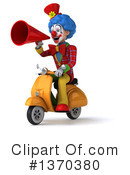 Colorful Clown Clipart #1370380 by Julos