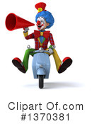 Colorful Clown Clipart #1370381 by Julos