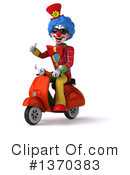 Colorful Clown Clipart #1370383 by Julos