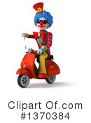 Colorful Clown Clipart #1370384 by Julos
