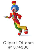 Colorful Clown Clipart #1374330 by Julos