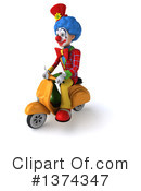 Colorful Clown Clipart #1374347 by Julos