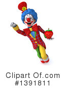 Colorful Clown Clipart #1391811 by Julos