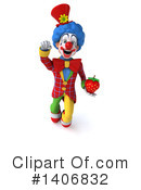 Colorful Clown Clipart #1406832 by Julos