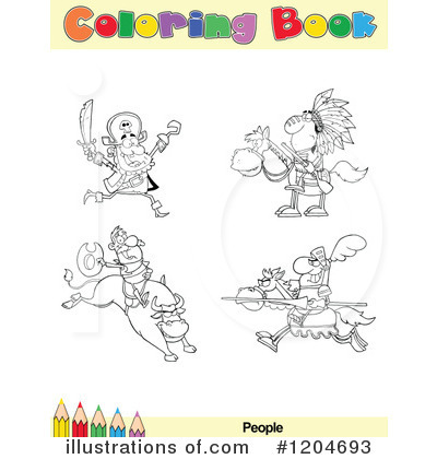 Jousting Clipart #1204693 by Hit Toon