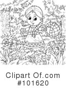 Coloring Page Clipart #101620 by Alex Bannykh