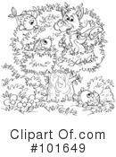 Coloring Page Clipart #101649 by Alex Bannykh
