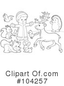 Coloring Page Clipart #104257 by Alex Bannykh