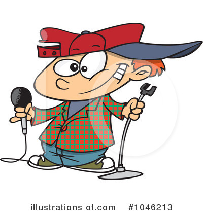 Comedian Clipart #1046213 by toonaday