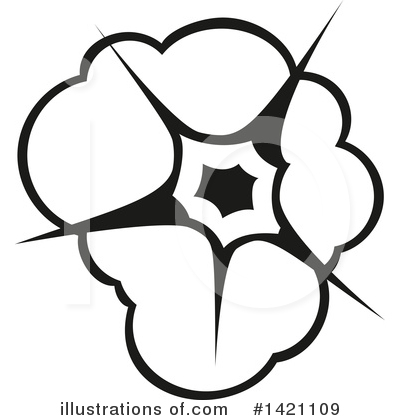 Explosion Clipart #1421109 by Vector Tradition SM