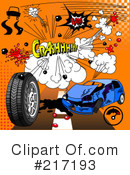 Royalty-Free (RF) comic Clipart Illustration #217193