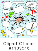 Comic Design Elements Clipart #1109516