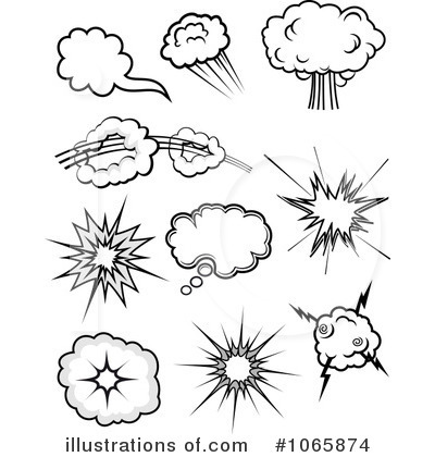 Explosion Clipart #1065874 by Vector Tradition SM