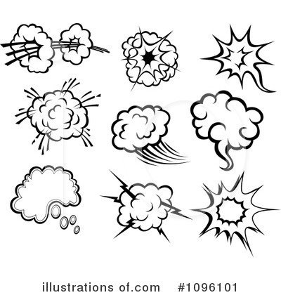 Explosion Clipart #1096101 by Vector Tradition SM