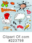 Royalty-Free (RF) Comics Clipart Illustration #223798