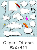 Royalty-Free (RF) comics Clipart Illustration #227411