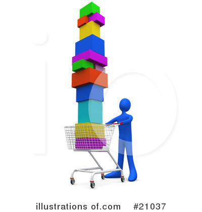 Shopping Clipart #21037 by 3poD