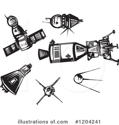 Space Exploration Clipart #1204241 by xunantunich