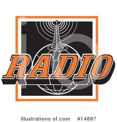Royalty-Free (RF) Communications Clipart Illustration by Andy Nortnik - Stock Sample #14887