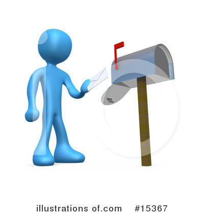 Mailbox Clipart #15367 by 3poD