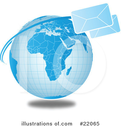 Royalty-Free (RF) Communications Clipart Illustration by OnFocusMedia - Stock Sample #22065