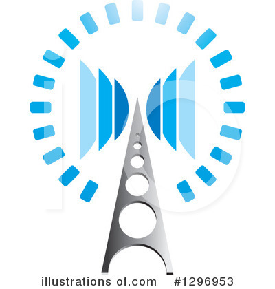 Communications Tower Clipart #1296953 by Lal Perera