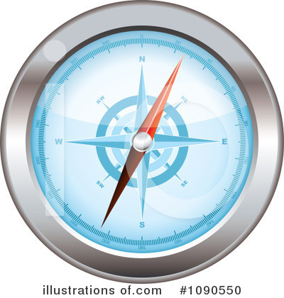 Compass Clipart #1090550 by michaeltravers