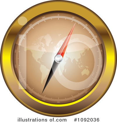 Compass Clipart #1092036 by michaeltravers