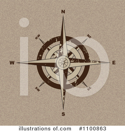 Compass Clipart #1100863 by michaeltravers