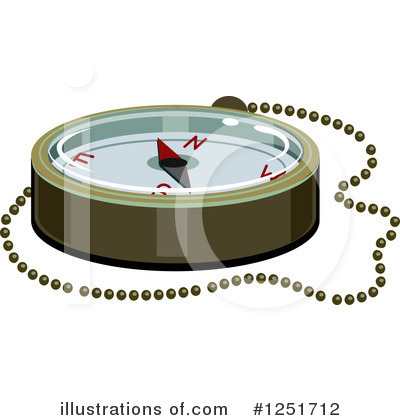 Compass Clipart #1251712 by BNP Design Studio