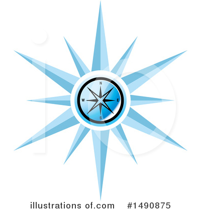 Compass Clipart #1490875 by Lal Perera