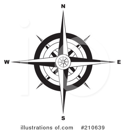Compass Clipart #210639 by michaeltravers