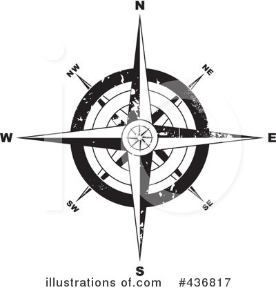 Compass Clipart #436817 by michaeltravers