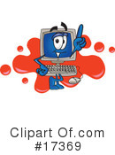 Computer Character Clipart #17369 by Toons4Biz