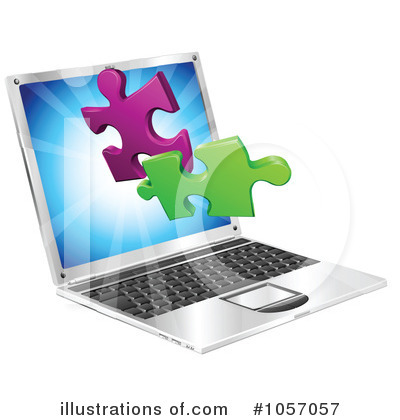 Puzzle Piece Clipart #1057057 by AtStockIllustration