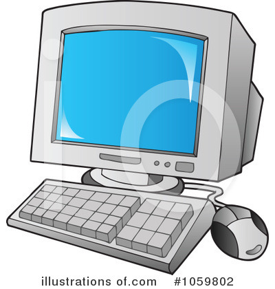 Computer Clipart #1059802 by visekart